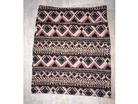 Size UK 6/8- River Island Bodycon skirt