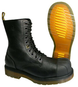 DOC MARTEN BOOTS steel toe - RARE / safety boots / BNIB /