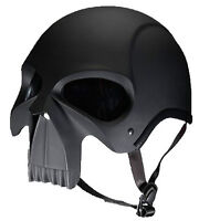 Skull Face DOT Helmet