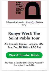 Kanye West Floor General Admission