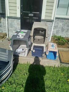 Local Dog Rescue selling dog crates