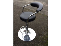 Pair of Zenith Bar Stools- Black *originally £90*