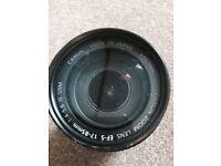 Canon EF-S 17-85mm IS USM Image Stabilizer Zoom Lens + Filter