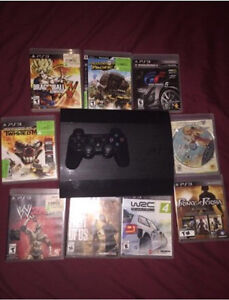 PS3 500GB with 9 Games.!!!  West Island Greater Montréal image 1