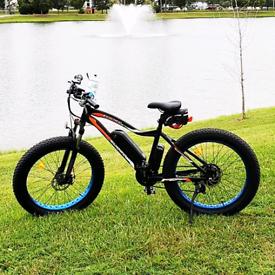 "CoolFly ROCKET26 Fat Tire e bike hydraulic brake 26inch 4.0"" 36V 500w"