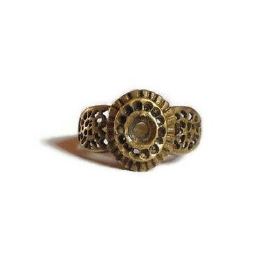 Scorpion Ring Brass Ring. Vintage West African Brass Ring
