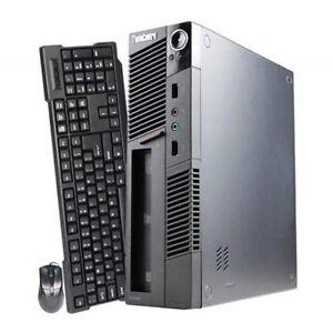 Lenovo Ultra M91P SFF i5 2400s 2.5GHZ/ 4GB/ 250GB/ DVRW Win7 Pro