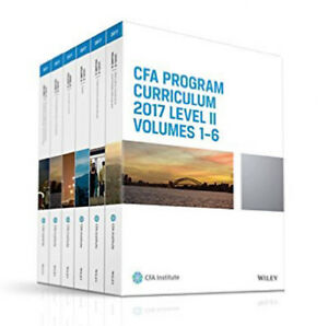 CFA Institute Official Curriculum Level 2 Volume 2 - 2016