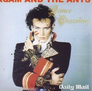 Adam And The Ants - Prince Charming - Daily Mail CD New