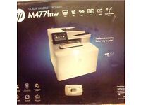 HP M477 FNW colour laserjet Pro MFP brand new