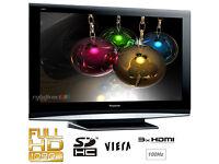 panasonic viera tx32lzd81 . lcd tv, free view. fully working order