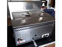 GAS PARRY AGF/P LPG TABLE TOP FRYER