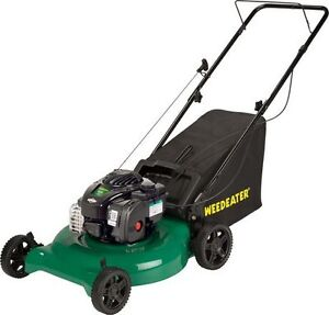 "Brand New Weed Eater 21"" lawnmower gas lawnmower with bag"