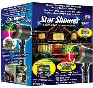 STAR SHOWER LASER CHRISTMAS LIGHTS