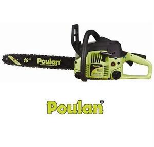 "NEW POULAN P3416 16"" GAS CHAIN SAW GAS POWERED - 2-CYCLE - 34CC CHAINSAW  OUTDOOR POWER TOOLS EQUIPMENT  82400854"