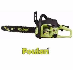 """NEW POULAN P3416 16"""" GAS CHAIN SAW GAS POWERED - 2-CYCLE - 34CC CHAINSAW  OUTDOOR POWER TOOLS EQUIPMENT  82400854"""