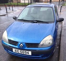 Renault Clio (£900 ONO)