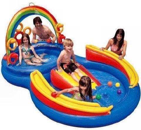 Intex Inflatable Kids Pool Ebay