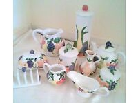 Set of Rayware Country Kitchen Design Kitchenware
