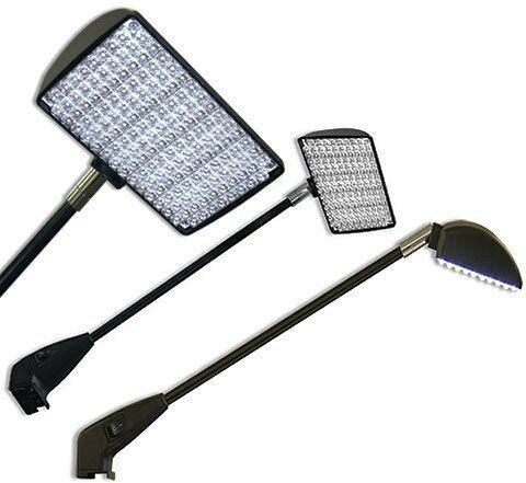 (2) LED TRADESHOW LIGHTS - VEGAS APPROVED-  ANY BOOTH