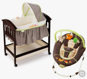 Looking For: Fox & Friends Baby Furniture - Bassinet, High Chair