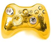 Xbox 360 Controller Shell Chrome