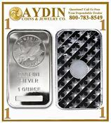 1 oz Sunshine Silver Bar .999 Fine
