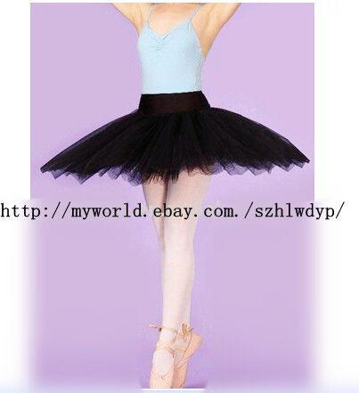 ballet professional hard organdy tutu-BLACK ADULT&CHILD/ballet tutus
