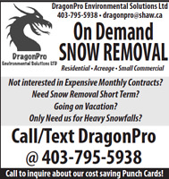 Snow Removal-On Demand