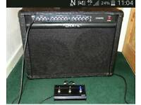 Crate 212 gt 120 watt amp with footswitch