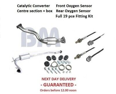 Catalytic Converter Exhaust Stolen on your Honda Jazz - This is the kit you need