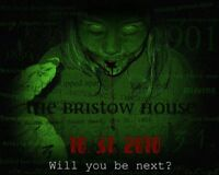 Haunted House at the old Bristow's Inn in Elmira!