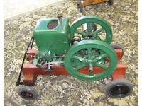 1918 Fairbanks Morse Open Crank Headless 1.5hp Stationery Engine