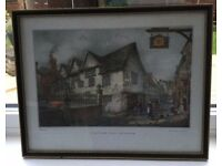 Leicester Old Town Hall Framed Sketch