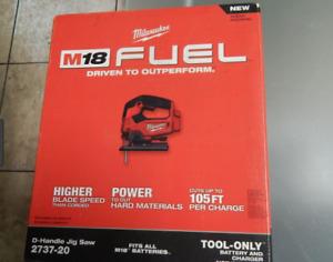 Milwaukee M18 Jig Saw 2737-20 (Brand New)