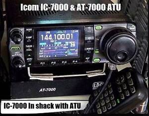 Icom IC-7000 Transceiver & AT-7000 Auto ATU - all as new per pics Railway Estate Townsville City Preview