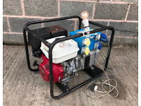 Stephill 5KVA 110/240V petrol Honda generator