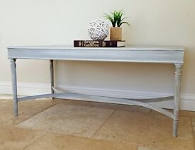 Hand Painted Coffee Table - Empire Style
