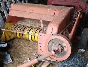 Two Small Square Balers, One Bale Thrower - New Holland