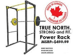 Northern Lights Iron Factory Power Rack,Made In Canada!!!