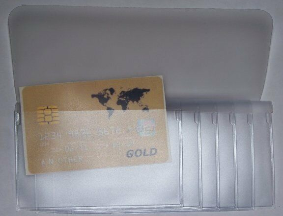 USA Quality 6 Page Secretary Checkbook Vinyl Wallet Insert P