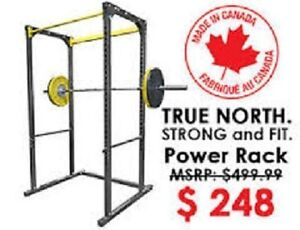 Northern Lights Power Rack Made in Canada on Sale and in Stock !