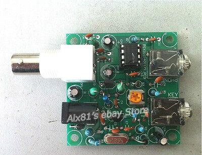 HAM RADIO 40M CW Shortwave Transmitter Receiver 7.023-7.026MHz QRP Pixie Kit DIY on Rummage