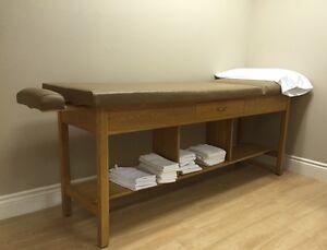 Table de traitement physiothérapie, masso ou esthétique