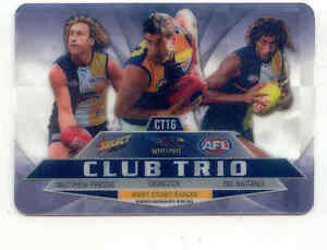 2012 AFL Select Champions Club trio-West Coast