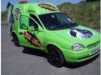 Swap px Vauxhall Corsa hulk valet van 1.7 diesel