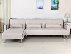 SECTIONAL SET WITH SOFA BED INN FABRIC BRAND NEW