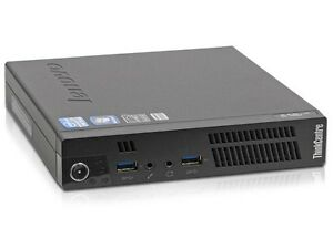 Lenovo Thinkcenter M92p-Tiny Desktop PC, Win 7 & 90 Day Warranty