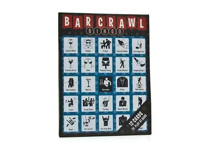 BAR CRAWL BINGO by Knock Knock Stuff --- More fun than just drinking!](Fun Bar Stuff)