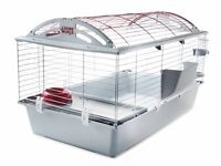 Living World Pet cage + supplies